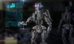 Robot Mech Machine Technology Urban Ai