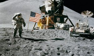 Space Station Moon Landing Apollo 15 James Irwin